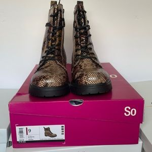 So Bowfin Snake Combat Boot